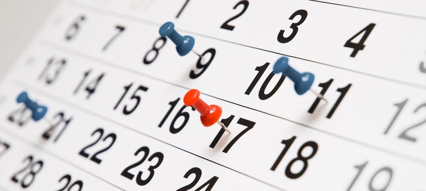 Calendario de Actividades 2018-1