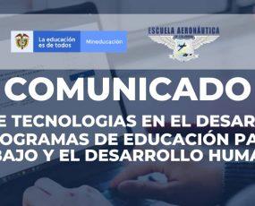 Uso de tecnologías en el desarrollo de programas de Educación para el Trabajo y el Desarrollo Humano