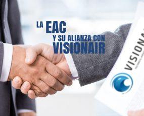 LA ESCUELA AERONÁUTICA DE COLOMBIA Y SU ALIANZA CON VISIONAIR