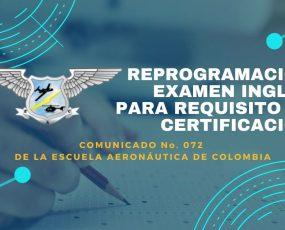 COMUNICADO No. 072